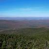 View north to Lake Umbagog.
