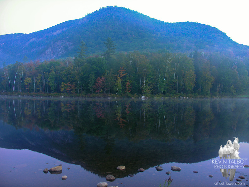Some foggy, pre-dawn shots from The Basin at the Basin Campground at the south end of Kevin's (Evans)  Notch.