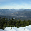 Pemigewasset Wilderness from Franconia to the Bonds.