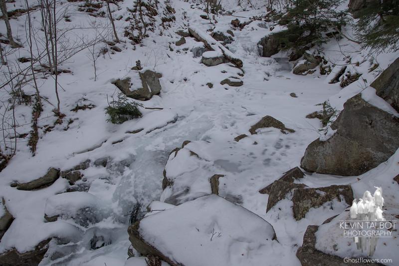 Sketchy crossing, ice held...