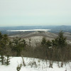 View east to Lake Ossipee and Green Mountain.