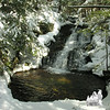Beautiful falls on Fields Brook.