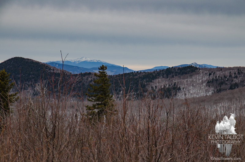 Zoom northeast to Mount Washington (L) & Mount Chocorua (R)