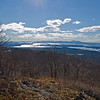 Southwest across Lake Winnepesaukee to the Belknaps from the viewpoint.