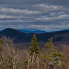 The dark bump is Blacksnout Mountain North, beyond are the Moats, and above them is probably Boot Spur. To the right are the Wildcats then Chocorua.