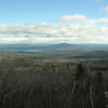 View east to Green Mountain and Lake Ossipee.