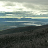 The highest peaks of the Belknaps are Belknap and Gunstock in the center of the picture.