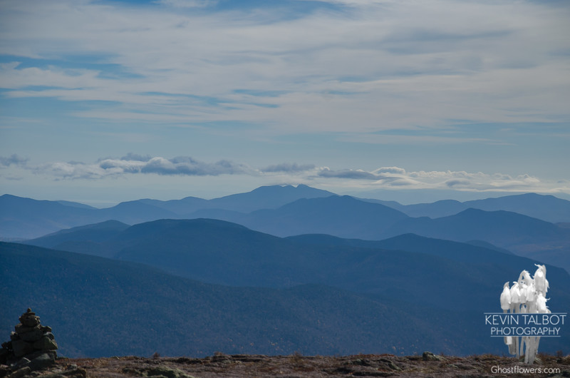 Clouds kissing Mount Chocorua...