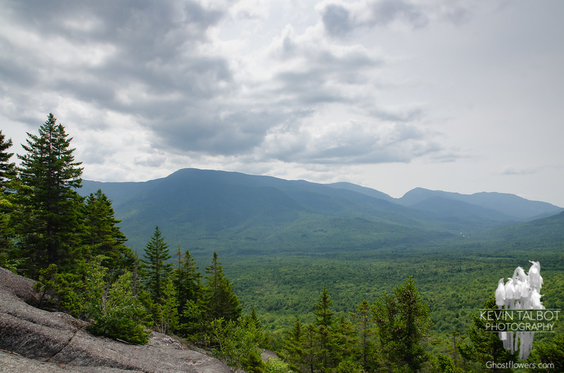 The Carter Range and Carter Notch to our southeast...