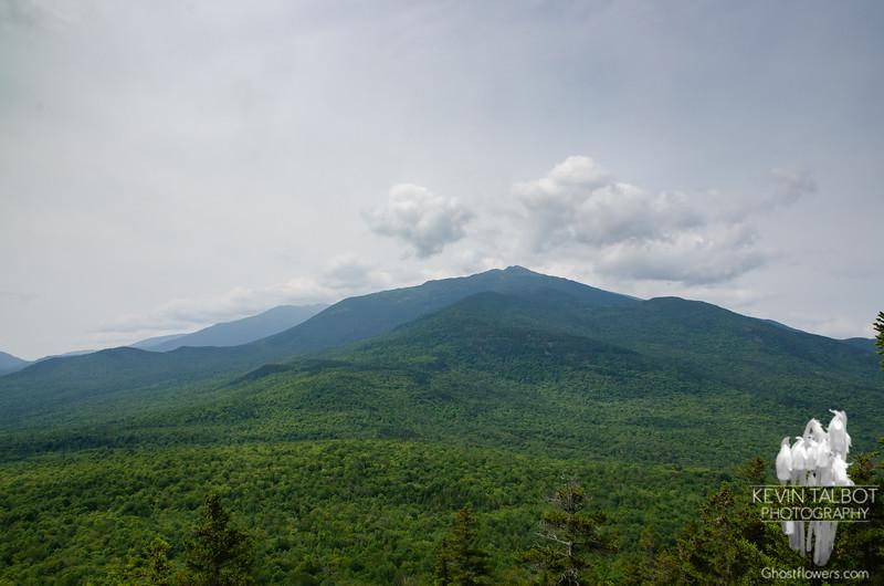 Mount Madison dominates the landscape to our southwest...
