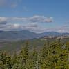 Mount Tecumseh, The Osceolas and cliffs on Sachem Peak.