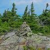 Undamaged summit cairn. JT