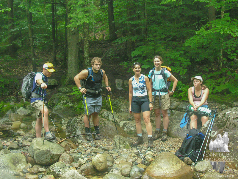Outstanding group of hikers.
