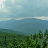 View southwest towards Mount Moriah.