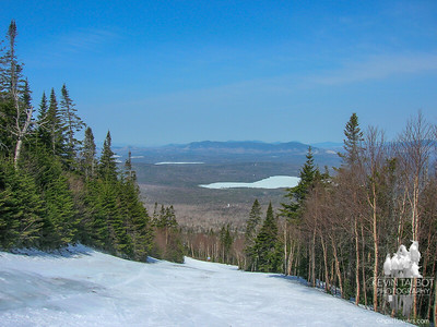 Skiing at Saddleback 4-19-08