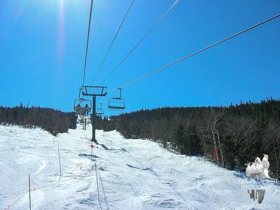 Skiing at Wildcat 4-12-08
