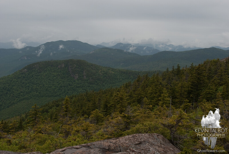 View west to Bear Mountain.