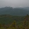 View to Chocorua (L) and Passaconaway (R).
