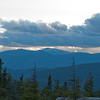 View west towards Mount Washington.