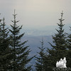 Hazy view to Bretton Woods.