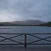 Dark and gloomy at Chocorua Lake on the way up.