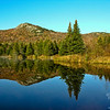Middle and North Sugarloaf from Wildlife Pond.