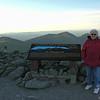 Mom at the summit.