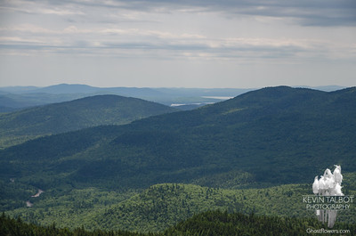 View towards Silver & Ossipee Lakes