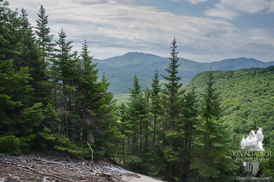 View to Mount Chocorua as we reach the lower ledges...