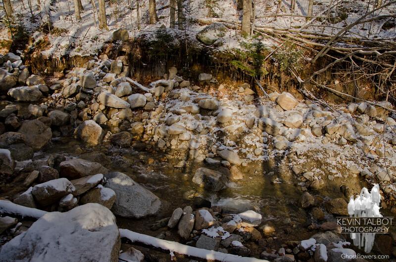 Irene damage on Tecumseh Brook.
