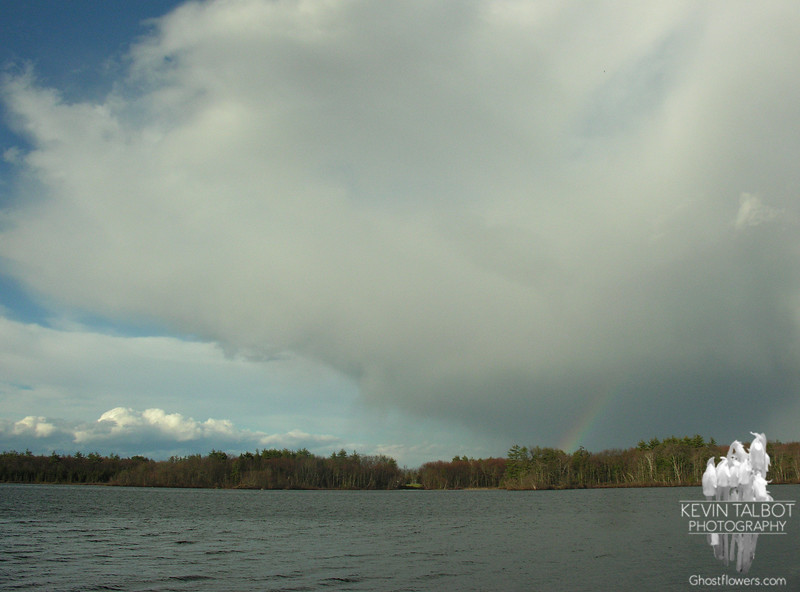 Squall on Powow Pond 4/23/09