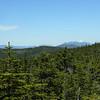The Kinsman Range and Franconia Ridge.