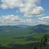 L to R Mount Tecumseh, Mount Moosilaukee on horizon, Mount Osceola and East Osceola.