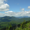 The Osceolas (L) and Franconia Ridge (R).