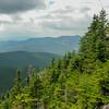 View towards Mount Tecumseh.