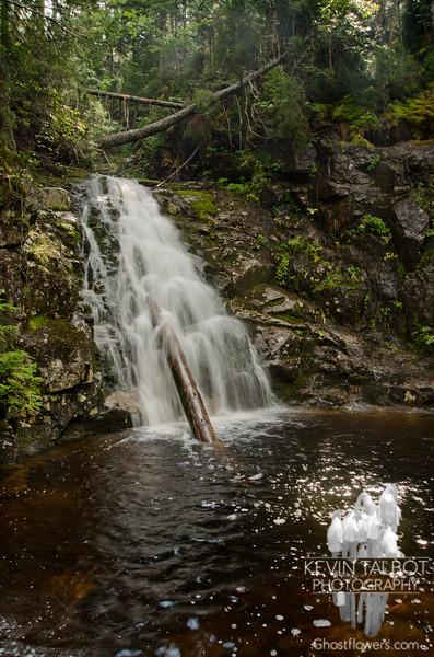 Waterfall on Silver Cascade Brook 1.