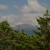 Glimpse of Mount Washington as we near the summit of Jackson.