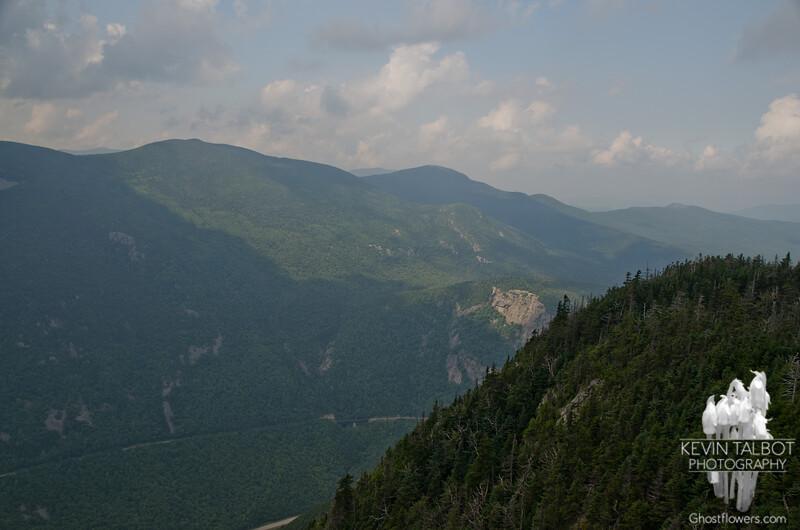 Sunlight on Mount Willard.