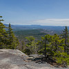 East to Pleasant Mountain in Maine.