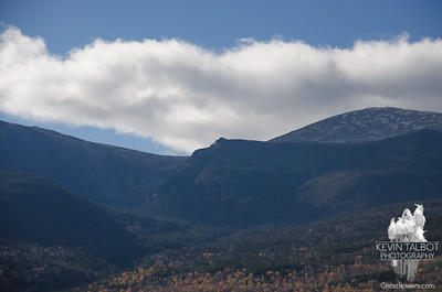 (L to R) Tuckerman Ravine, Lion Head, Summit of Washington