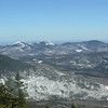 Snow covered North and South Baldface and Sable Mountain to our east.