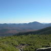 View to Carrigain Notch from Mount Guyot.