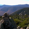 Descending the Bondcliff Trail from Mount Bond.