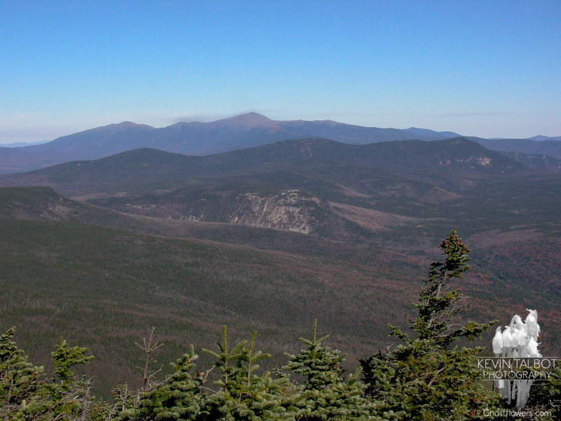 View northeast from Mount Bond.