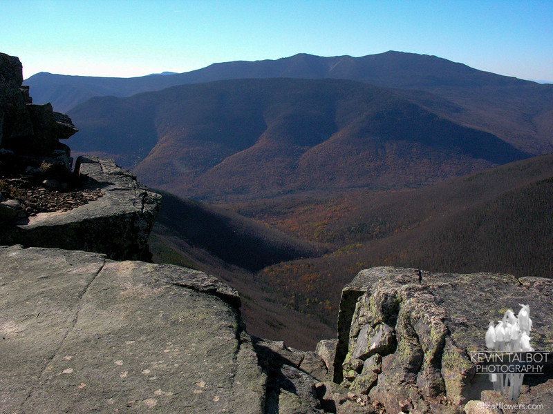 Owl's Head and Franconia Ridge from Bondcliff 2.