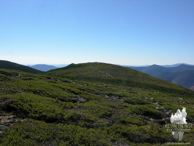 View to Mount Guyot from the Twinway.