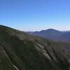View from West Bond past Mount Bond to Mount Carrigain .
