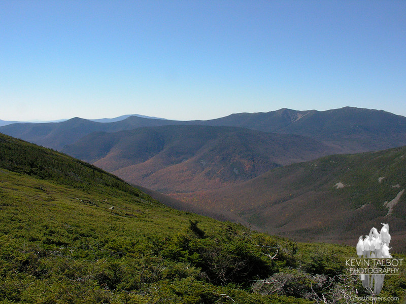View southwest from Mount Guyot.