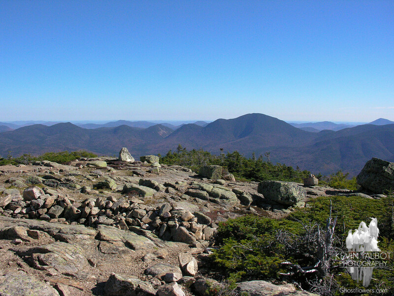 View southeast from Mount Bond.