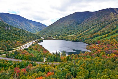Fall Foliage in New Hampshire White Mountains